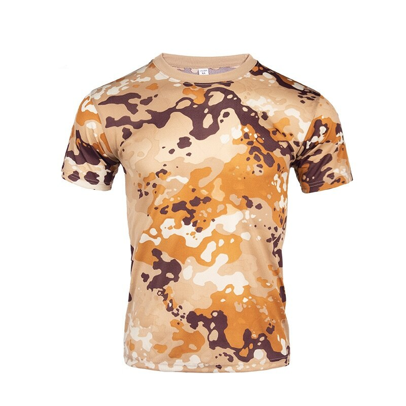 Quick Dry Camouflage  Combat T-Shirt